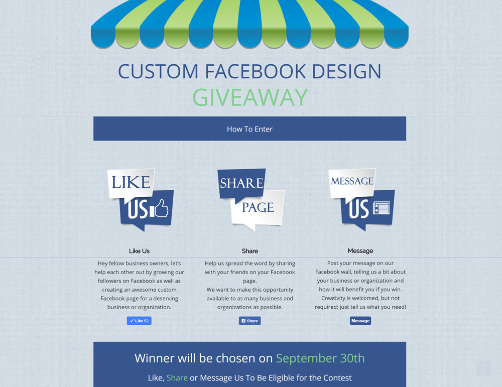 Get A Free Custom Facebook Landing Page - Boost2Business